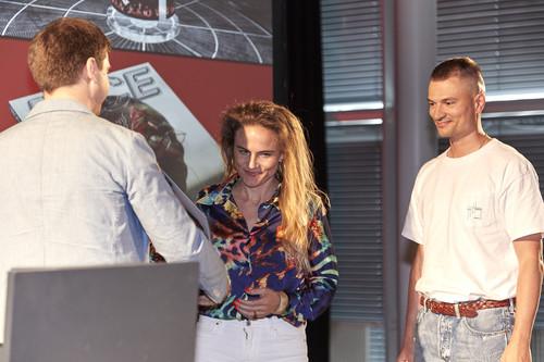 La remise des prix - © Swiss Design Awards Journal